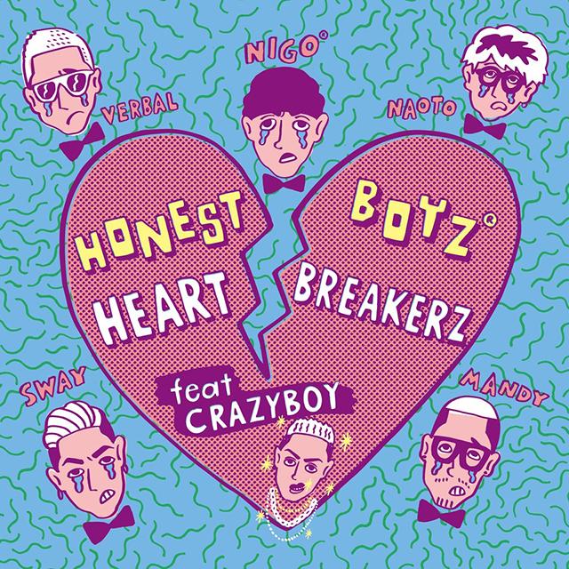 2/5(Mon)Digital Release!! 『HeartBreakerZ feat. CRAZYBOY』