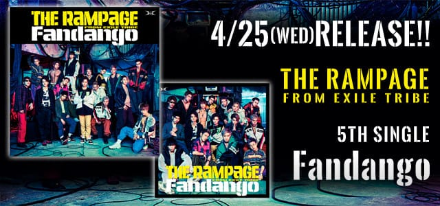 5th Single 『Fandango』 4/25(Wed)Release!!