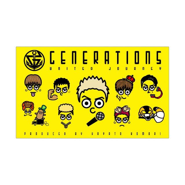 Generations Live Tour 2018 United Journey Tour Goods詳細