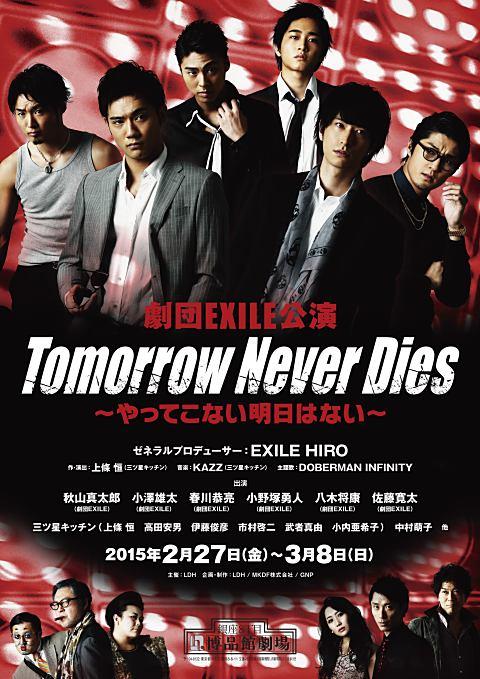 Tomorrow Never Dies〜やってこない明日はない〜