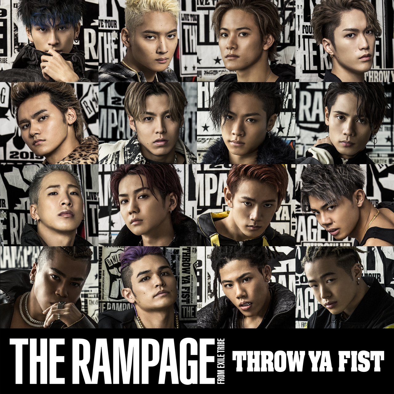 THE RAMPAGE from EXILE TRIBE - DOWN BY LAW  single 7th info Detail lyrics  Opening #2 Fairy Tail
